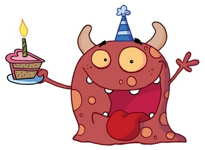 Monster clipart happy #10