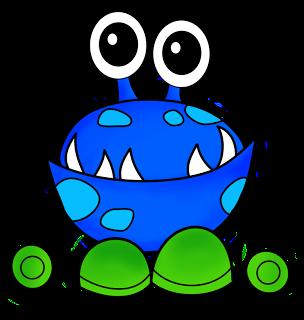 Monster clipart happy #11