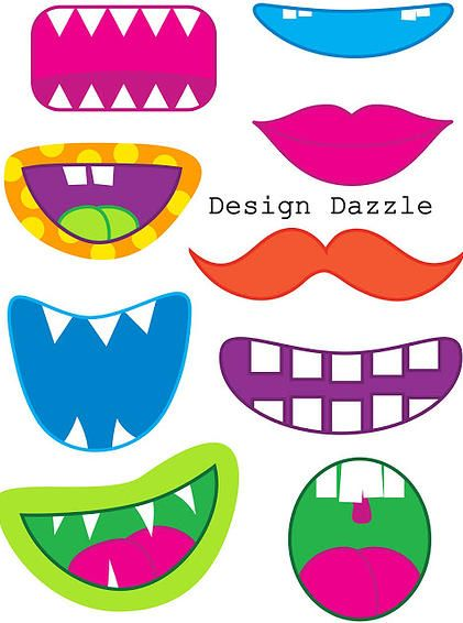 Monster clipart lip #9