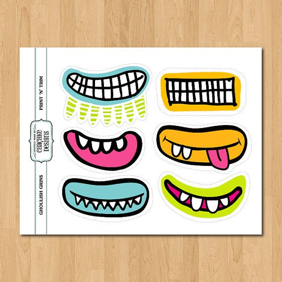 Monster clipart lip #10