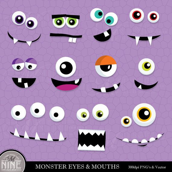 Monster clipart lip #11