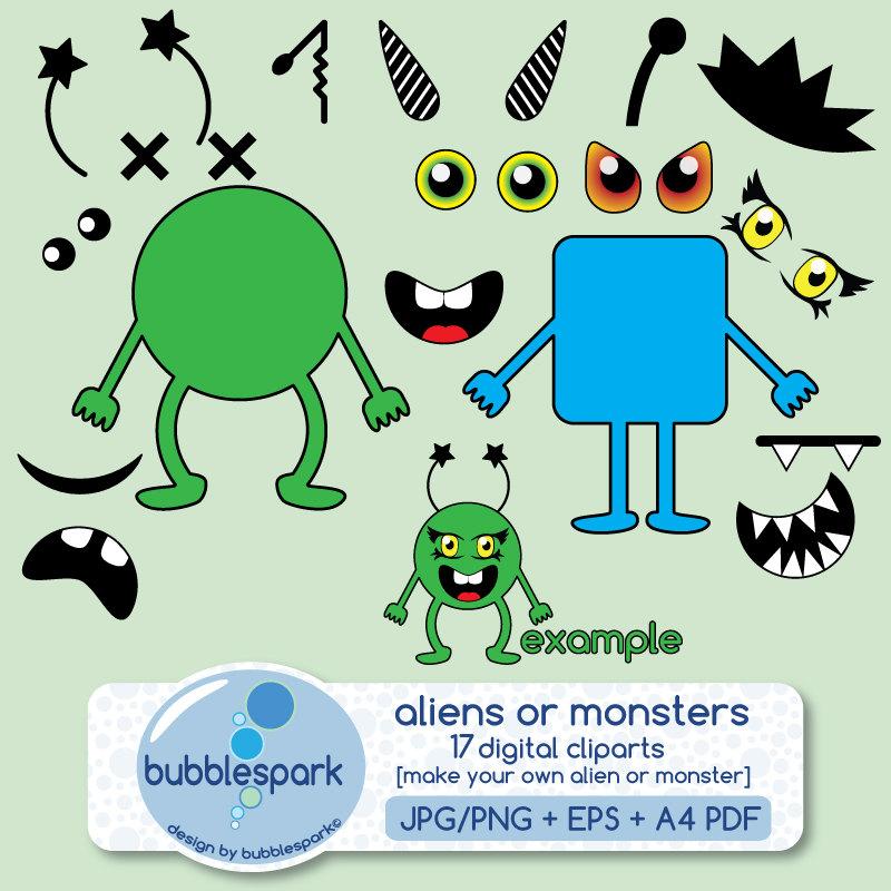 Monster clipart monster body #7