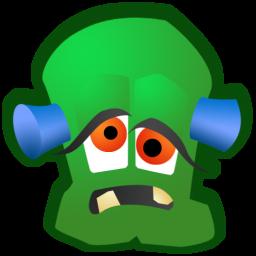 Monster clipart monster head #12