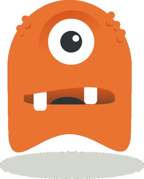 Monster clipart monster head #4