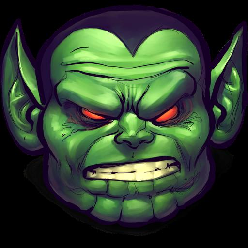 Monster clipart monster head #11