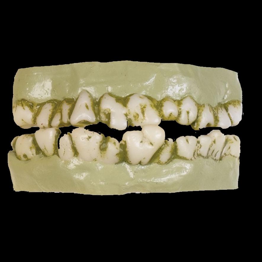 Teeth horror dentures costume rotting