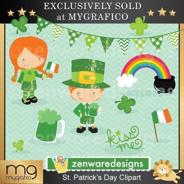 Monster clipart st patricks day Day day Holiday Clipart 26