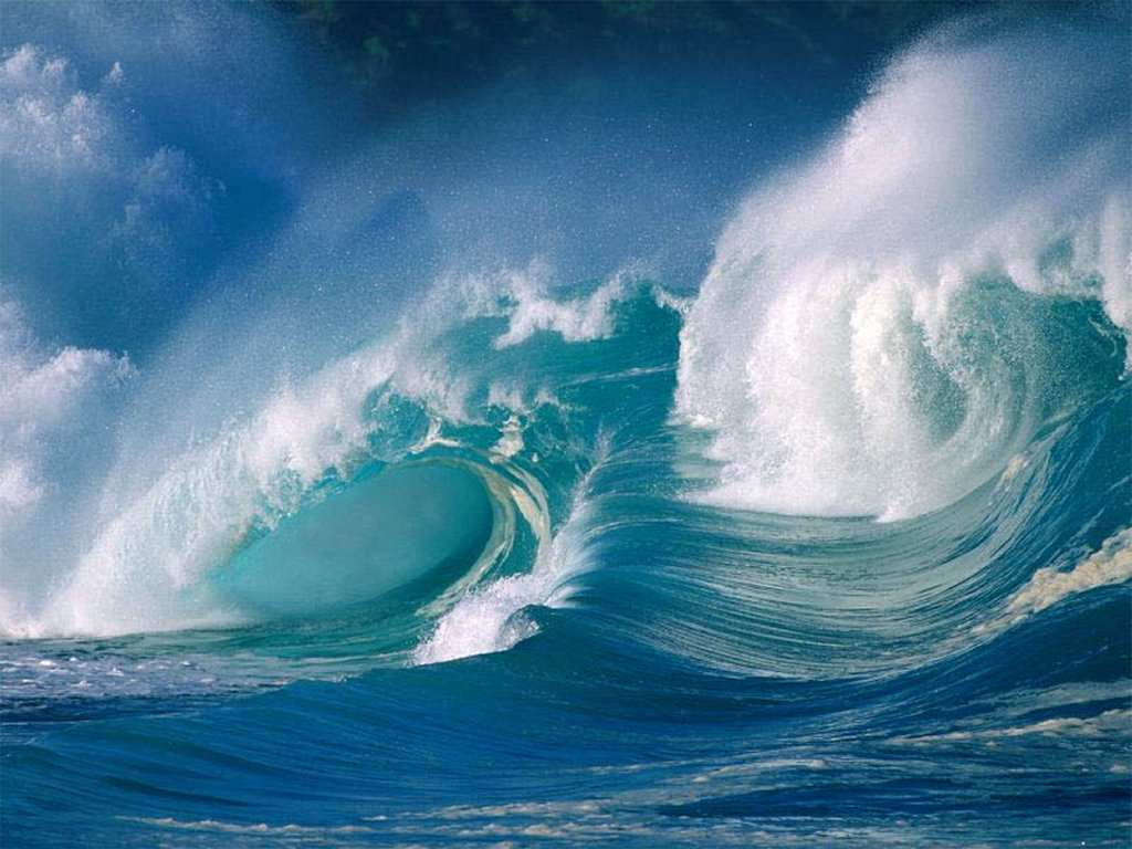 Monster Waves clipart high tide Free on Tide Free 5