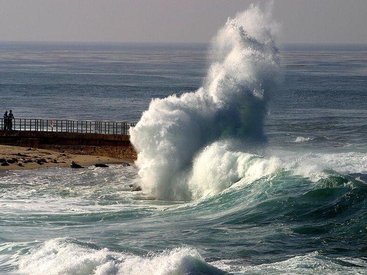 Monster Waves clipart high tide Pinterest waves best jolla seals