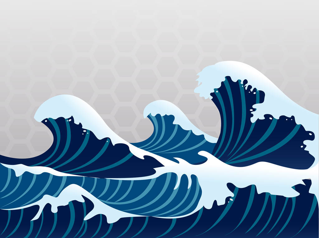 Monster Waves clipart pool wave #6