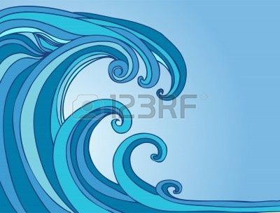 Monster Waves clipart pool wave #7