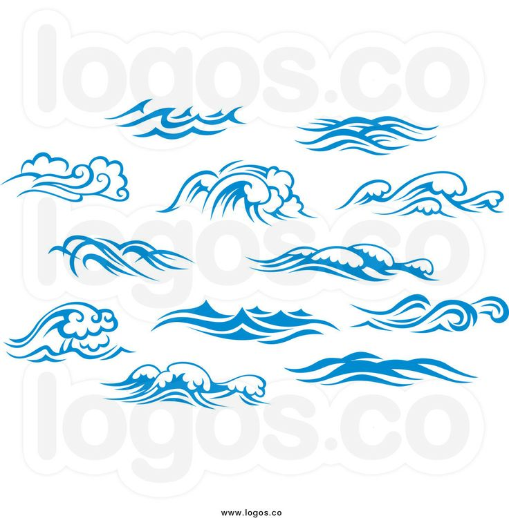 Monster Waves clipart simple Design of with 20+ waves
