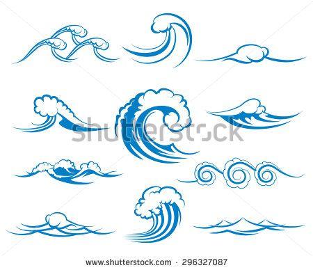Monster Waves clipart wave shape Wave Surf Clip Colection Wave