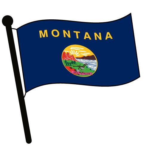 Montana clipart Accessories Pictures Flag Flag Montana