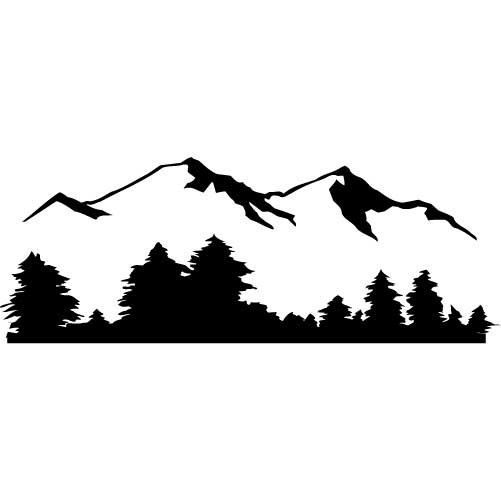 Wilderness clipart mountain view Search Pinterest ClipartCameo CameoMountain Mountain