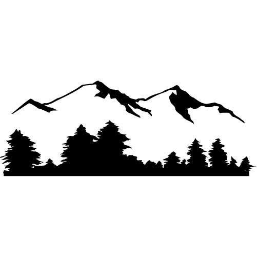 Wilderness clipart mountain view On Best Pinterest CameoMountain Mountain