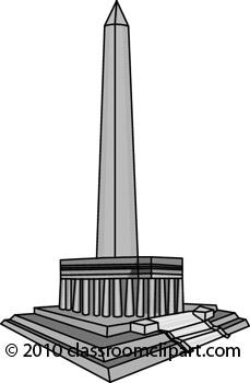 Monument clipart Monument Washington Savoronmorehead Savoronmorehead Clipart