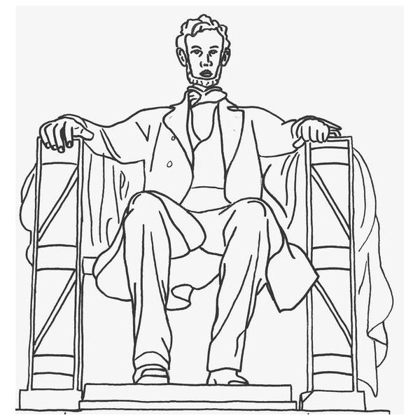 Monument clipart abraham lincoln Abe Abraham to Illustrations President