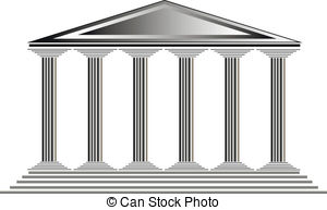 Temple clipart greek art Temple  of Greek A