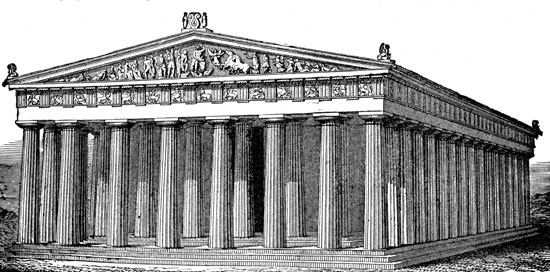 Parthenon clipart black and white And is We a Greecey