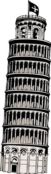 Structure clipart pisa Drawing clip Open in Pisa