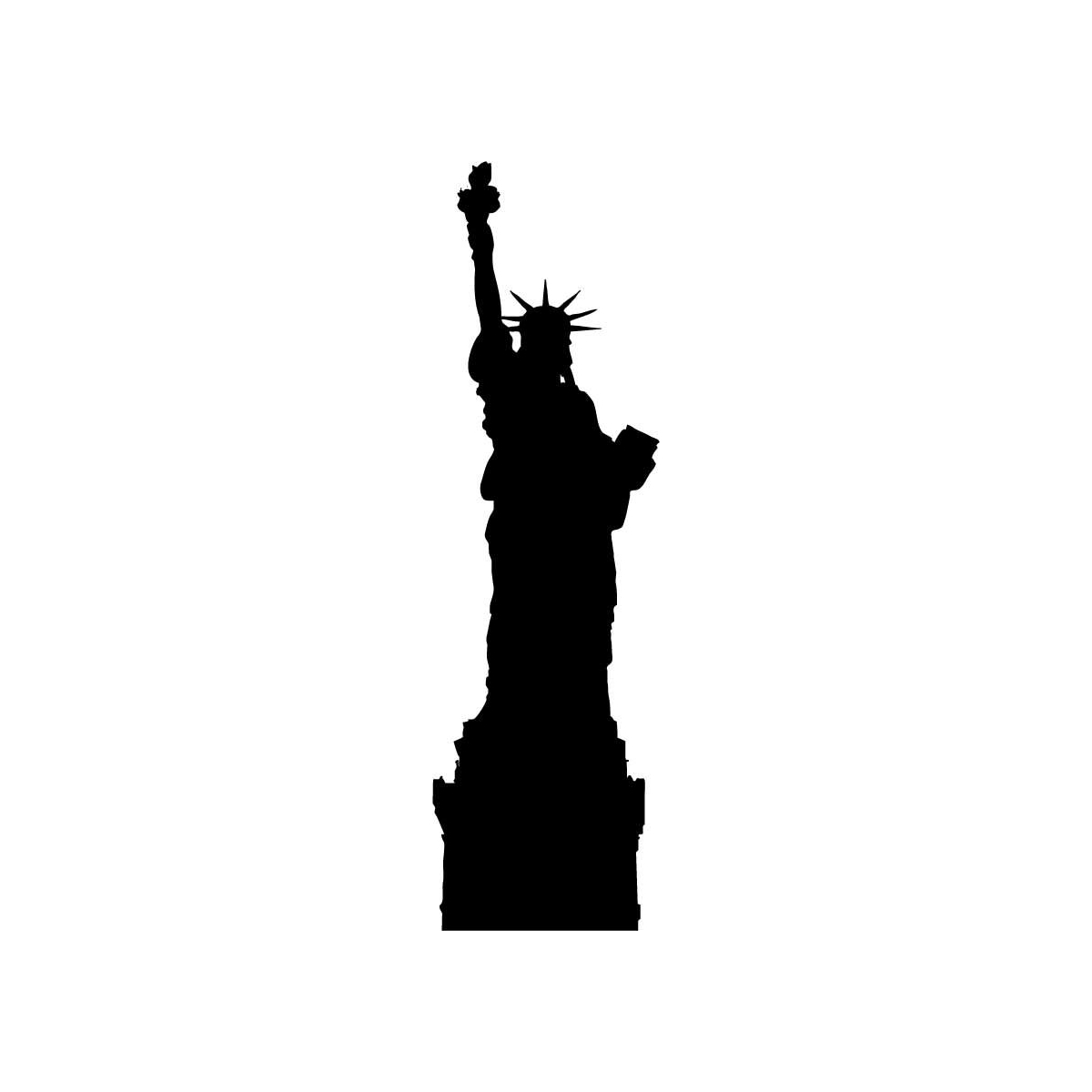 Figurine clipart silhouette Free 42 Cliparting 2 Liberty