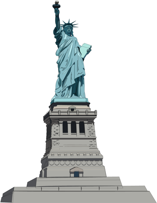 Figurine clipart historical Liberty 42 Liberty of Clipart