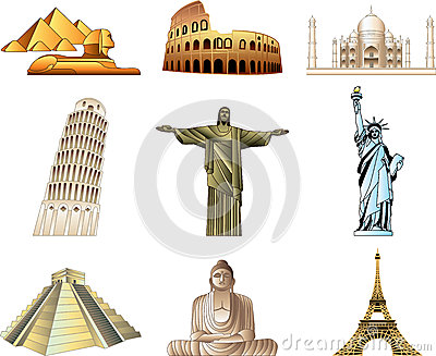 Monument clipart world famous place Famous around (66+) Places landmarks