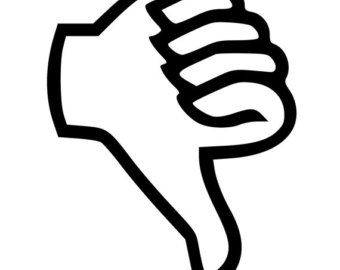 Mood clipart thumbs down #13