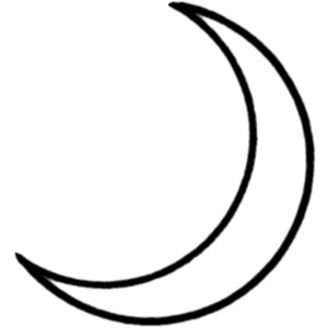 Lunar clipart black n white Free moon%20clipart%20black%20and%20white Clipart Images White