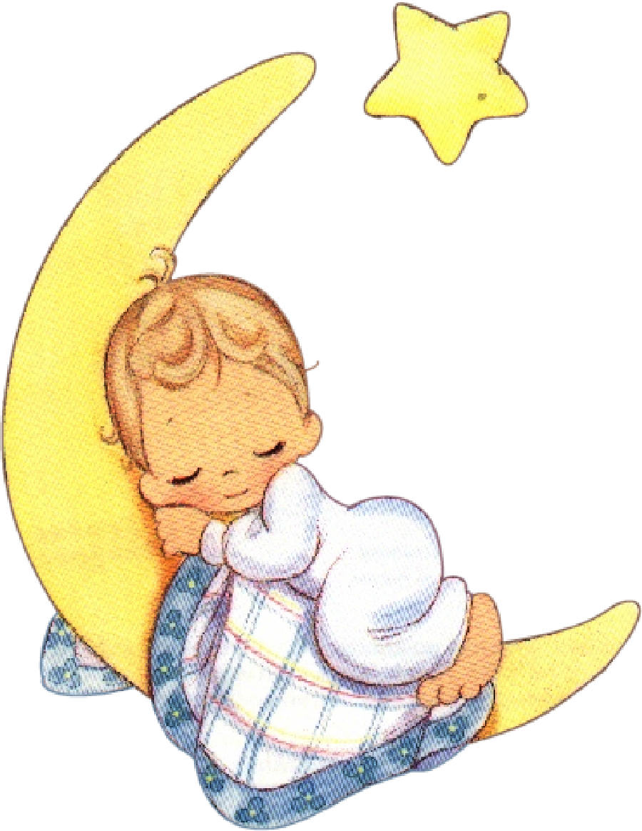 Moon clipart angel Moments Online cliparts Clipart Angel