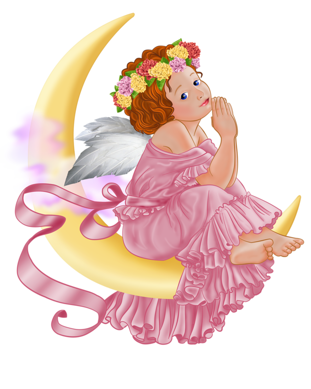 Moon clipart angel Gallery full size Moon Picture