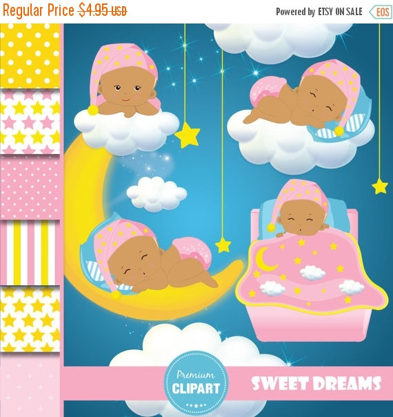 Moon clipart baby shower Shower girl star Commercial Baby
