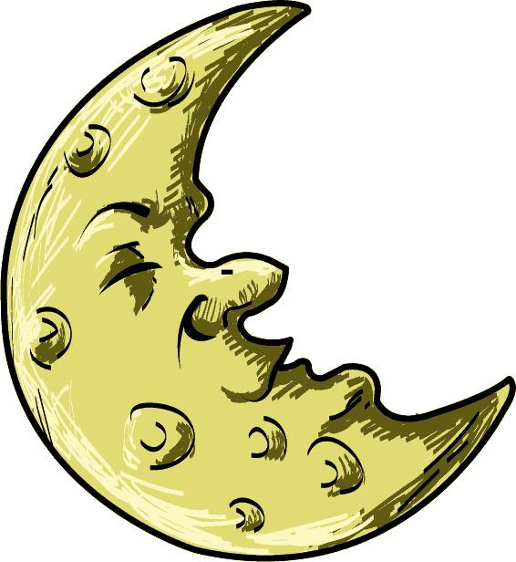 Moon clipart cartoon Moon Library Cartoon Free Clip
