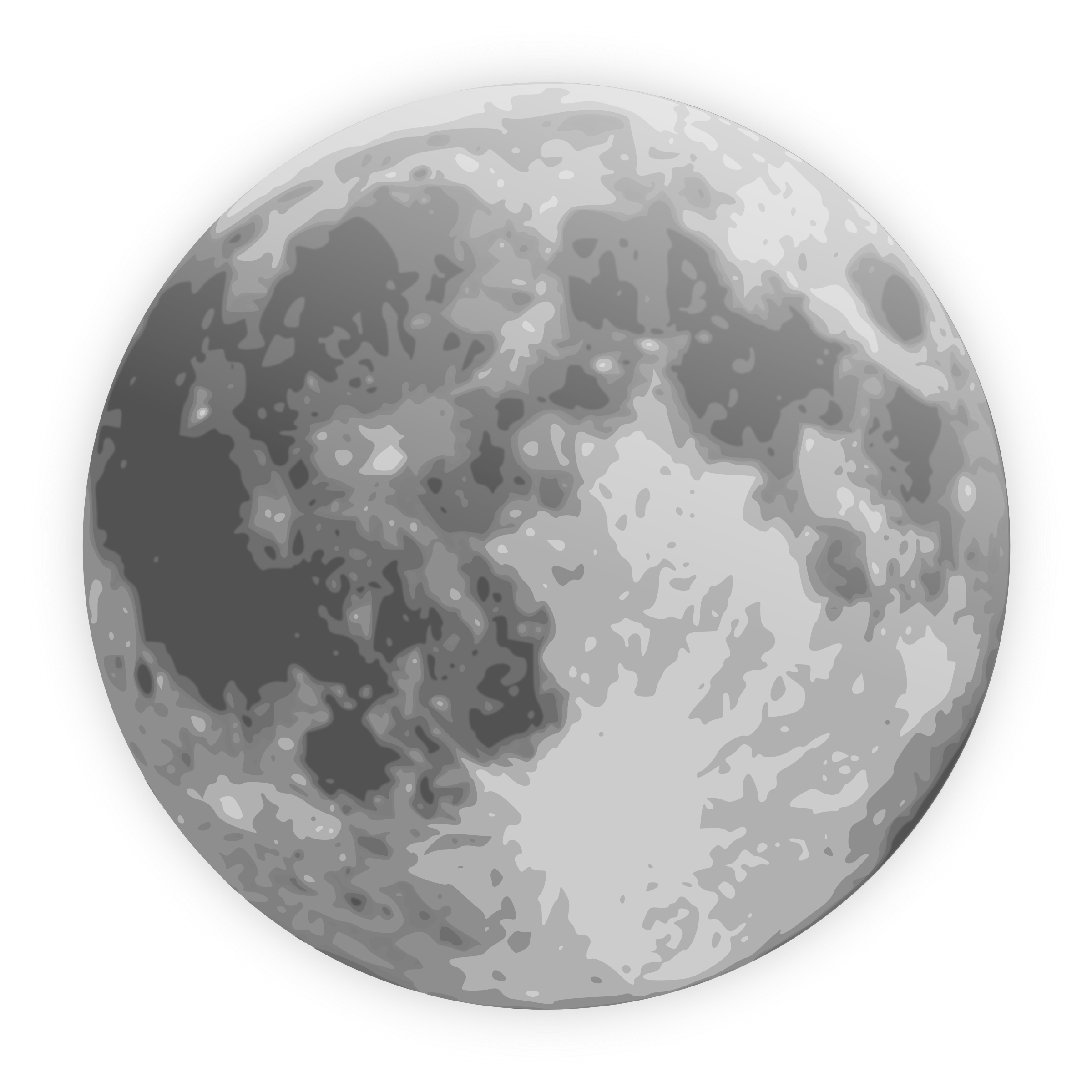 Moon clipart clear background #12