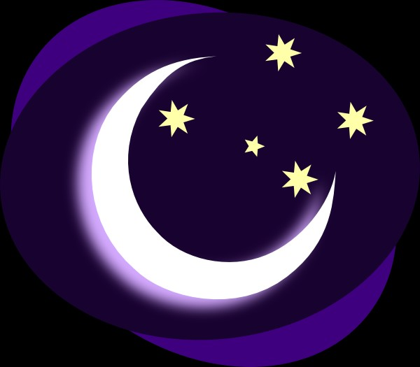 Moon clipart cresent moon Clipart cliparts Waxing you clipart