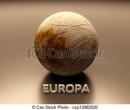 Moon clipart europa The Europa of csp13982520 Europa