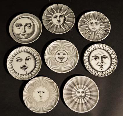 Moon clipart fornasetti Vintage Fornasetti Vintage A Sun