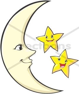 Moon clipart happy #10