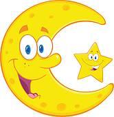Moon clipart happy #7