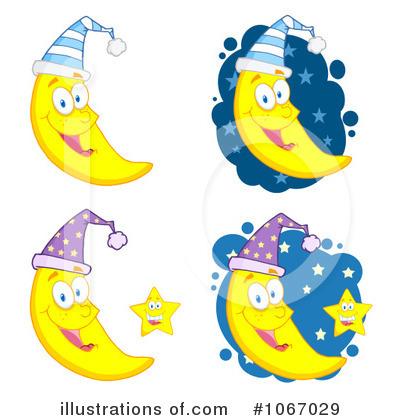Moon clipart illustration #7