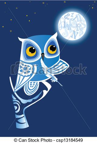 Night clipart night owl And collection owl Clipart Clipart