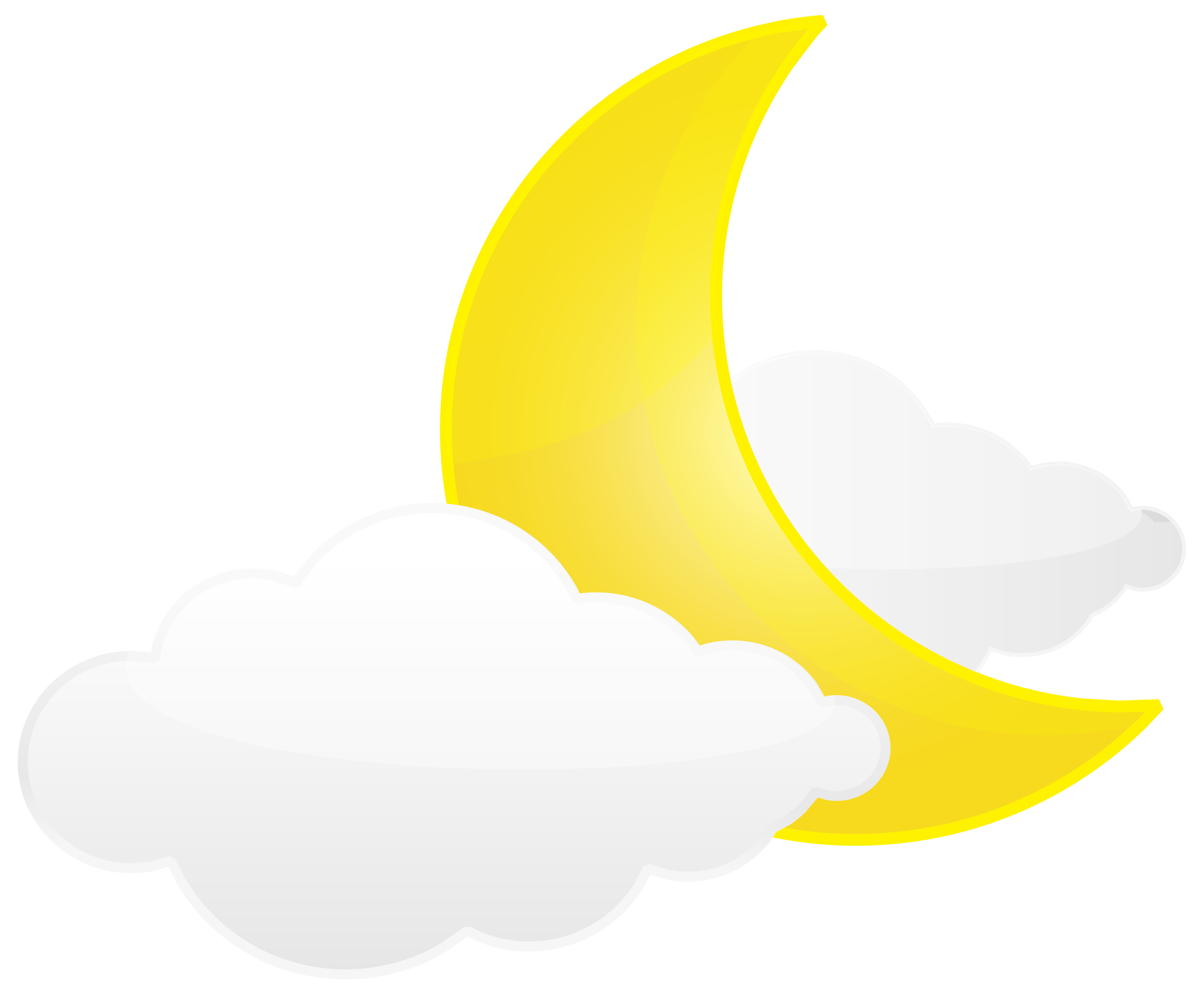Clouds clipart yellow Gallery Clip with Transparent PNG