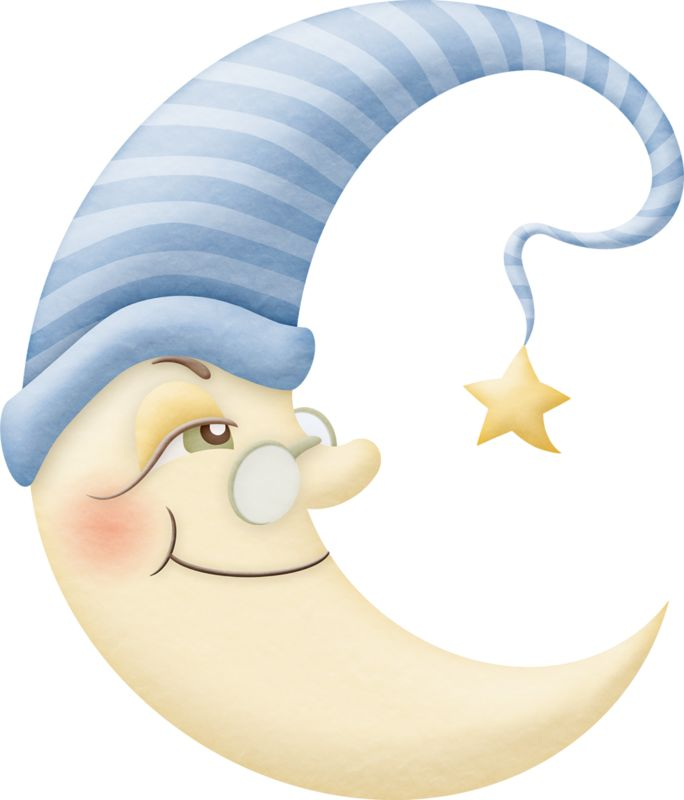 Bed clipart night moon Clipart Cute 501 on images