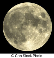 Moon clipart round Moon  with rare art