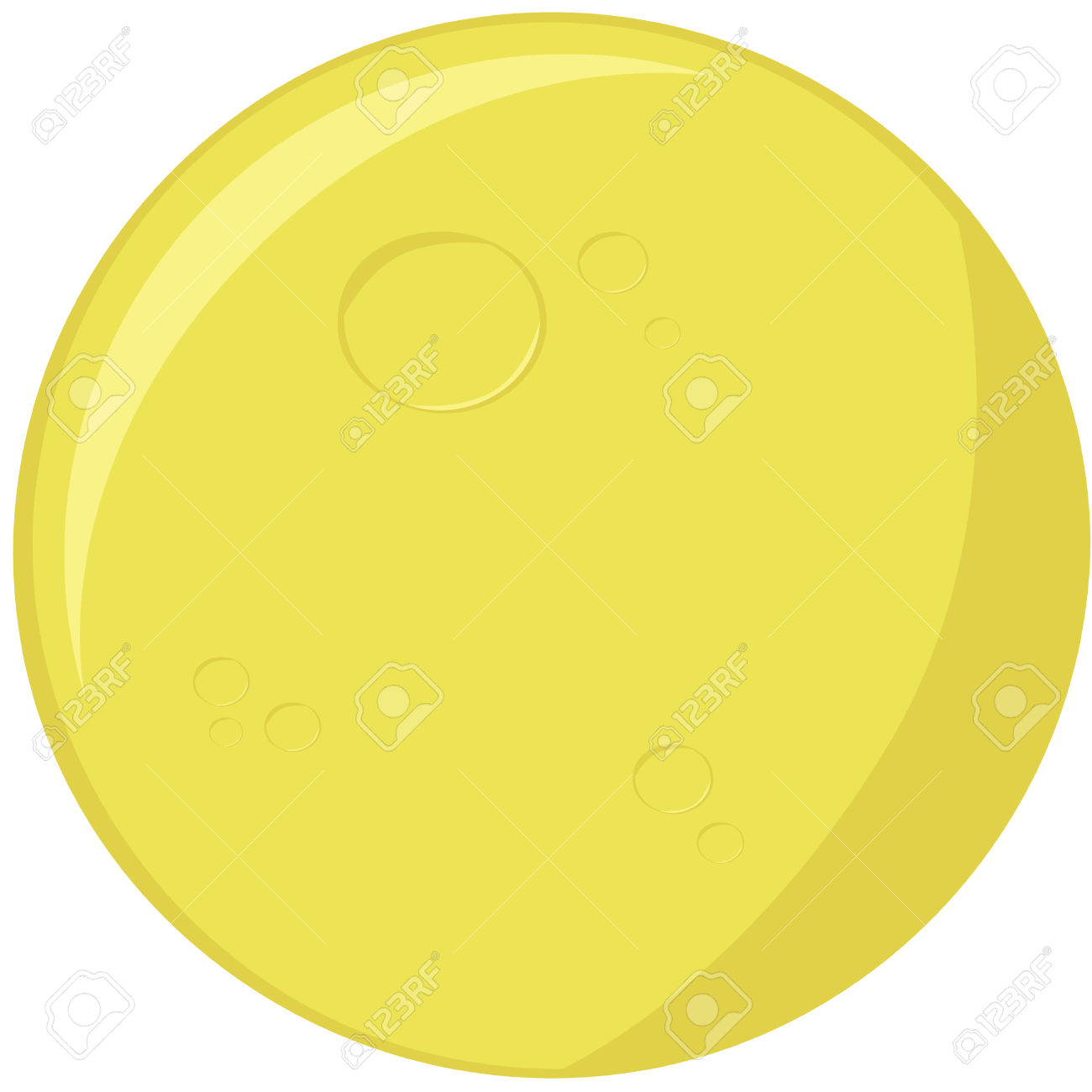 Moon clipart round Playing jpg Role Camp yellow