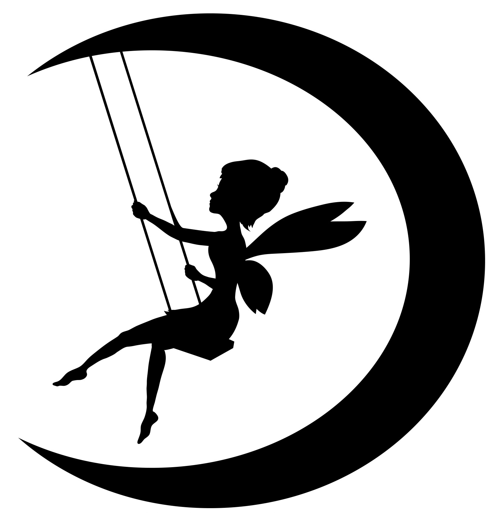 Shadow clipart tinkerbell Silhouette clipart collection For Fairy