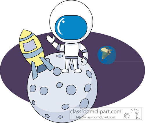 Moon clipart space #6