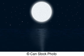 Moonlight clipart The the art Moonlight