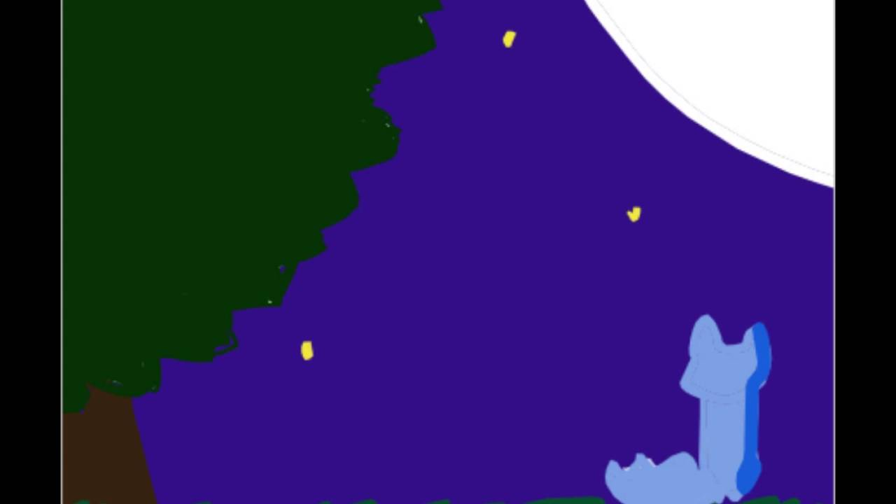 Moonlight clipart animated #12